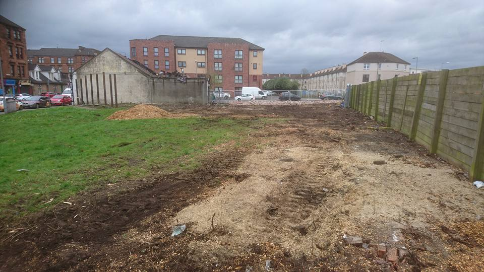 Site clearance Glasgow, GM land Solutions